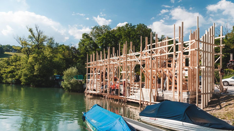 Les futurs architectes de l'EPFL investissent les parcs genevois