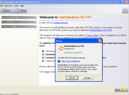 Getdataback 4.33 Crack Full Version Free Download