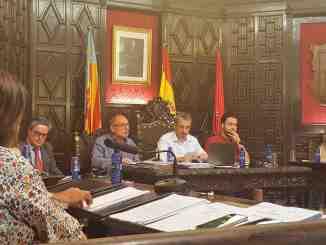 El Concejal Pedro Gómez interviene agradeciendo las palabras de sus compañeros