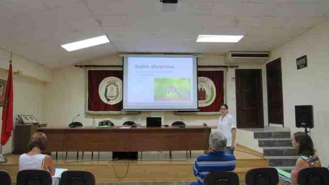 Reunión en Segorbe sobre el control del mosquito tigre
