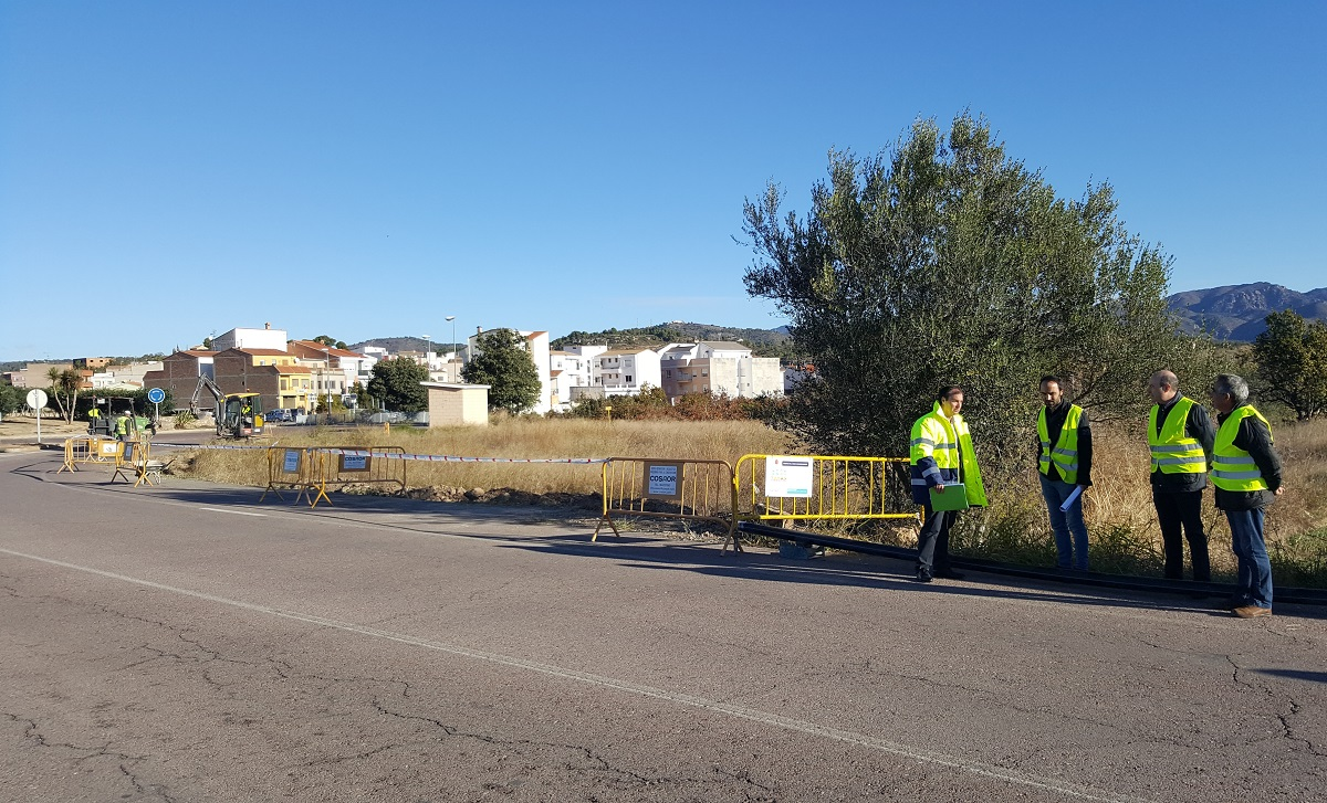 Comienzan las obras en la rotonda de acceso a Geldo, para la mejora del abastecimiento en Villatorcas