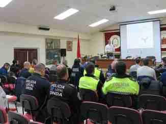La sesión ha tenido lugar en el Salón de los Alcaldes del Ayuntamiento de Segorbe