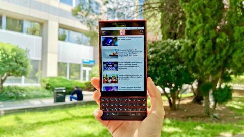 Blackberri Key 2 le en actualidad accesible News
