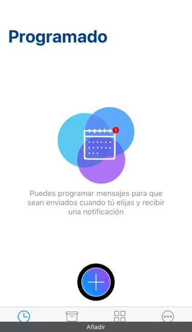 Complement: para whatsapp programa tus mensajes