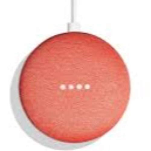 Imagen de un altavoz Google Home Mini