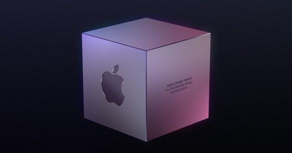 Logo de Apple en una caja
