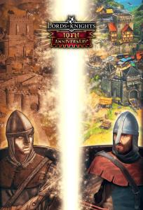 Dos guerreros antes de luchar de Lords&Knights estrategia medieval