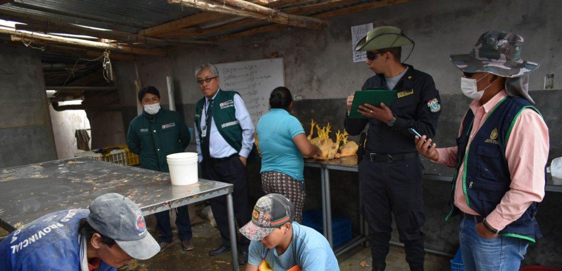 Centro de faenamiento clandestino es intervenido por Senasa y autoridades en Amazonas