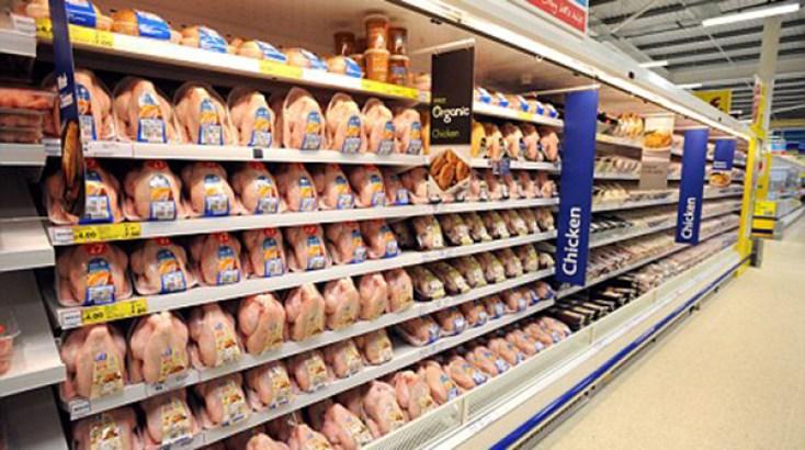 Estados Unidos: pollo deshuesado empieza a escasear