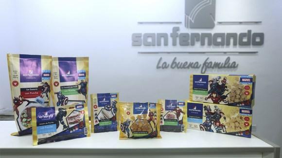 San Fernando lanza nueva línea de productos fortificados con hierro y vitaminas B6 y B12