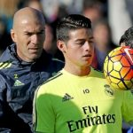 Es oficial: James ingresa a friendzone de Zidane