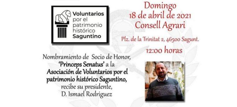 Miguel Requena presenta en Sagunto «Los espacios de la muerte en Roma»