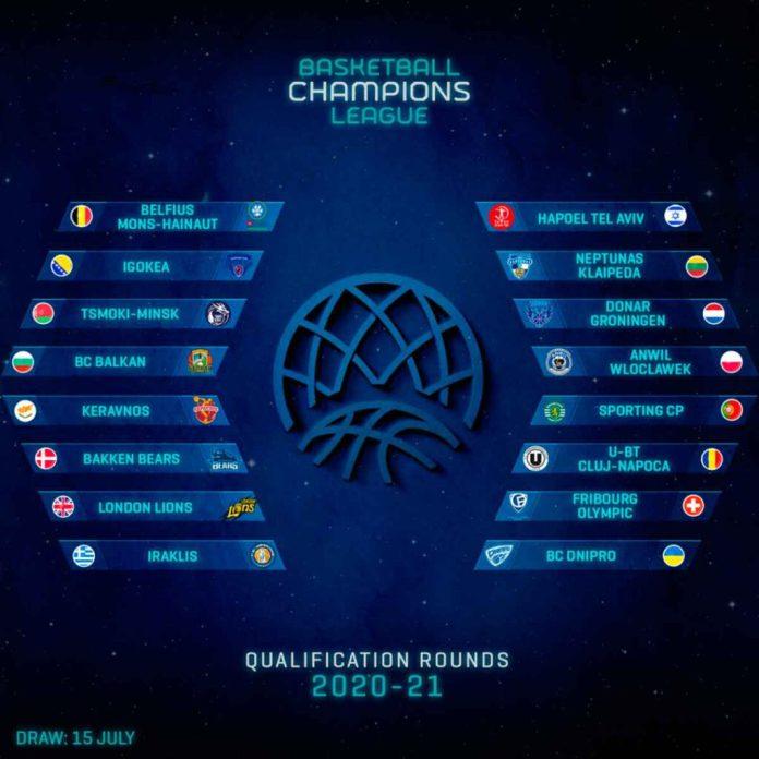 Equipos que deben disputar una fase de clasificación para la edición 20-21 de la BCL | CBC
