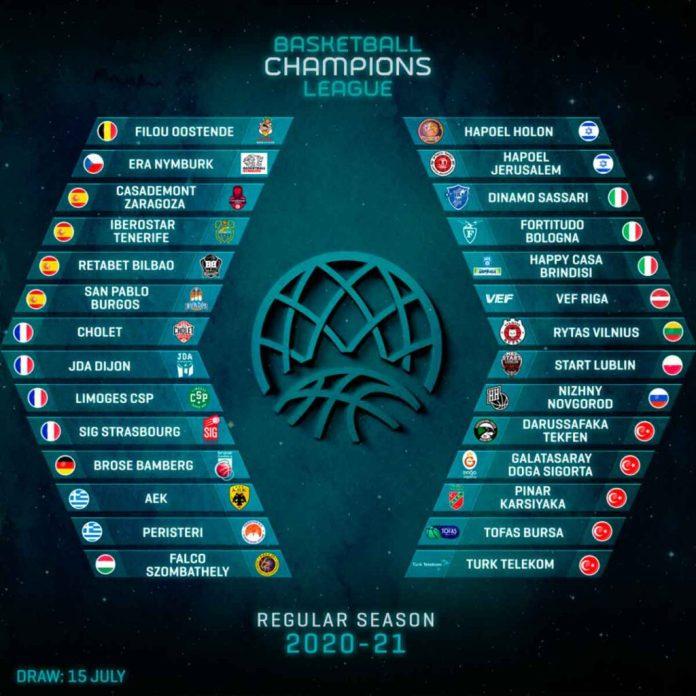 Equipos confirmados para la BCL 20-21 | CBC