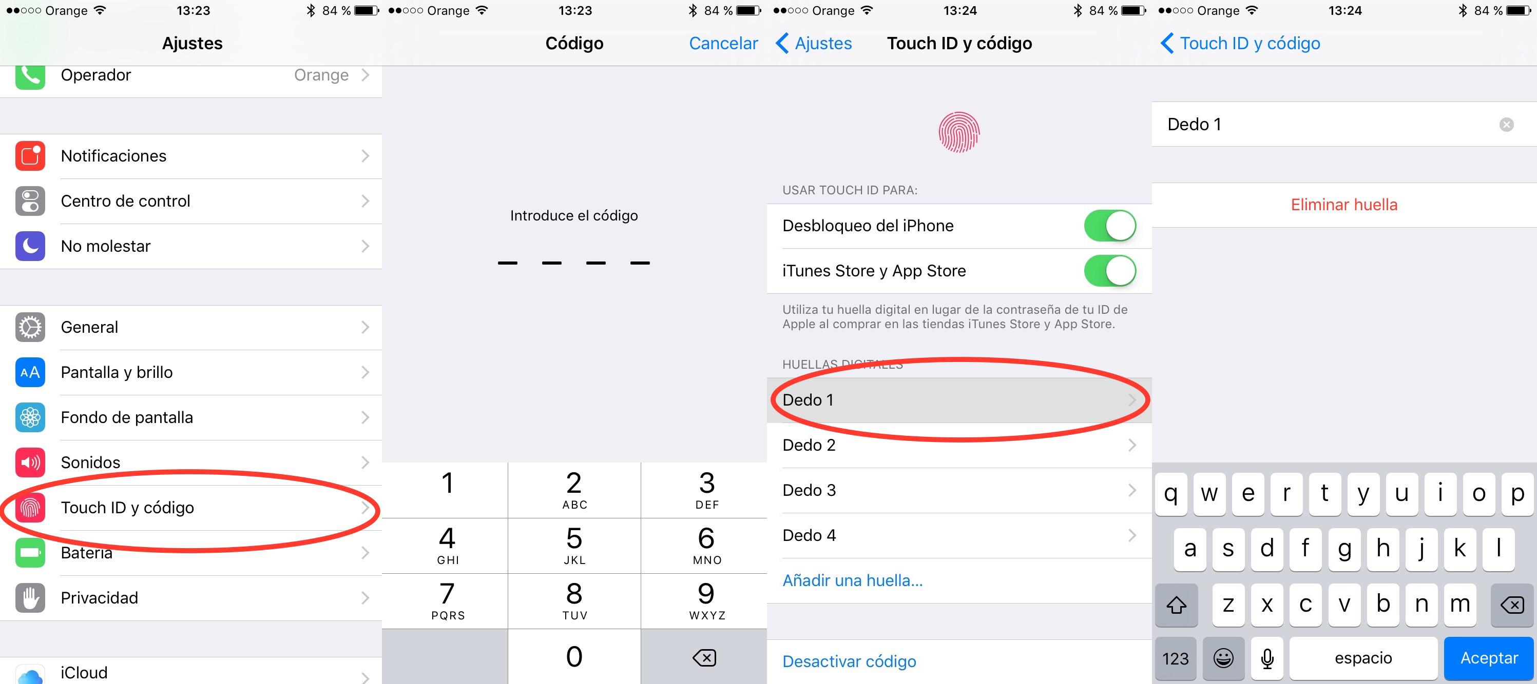 Permalink to Cómo saber el dedo asignado a cada huella Touch ID en iPhone y iPad
