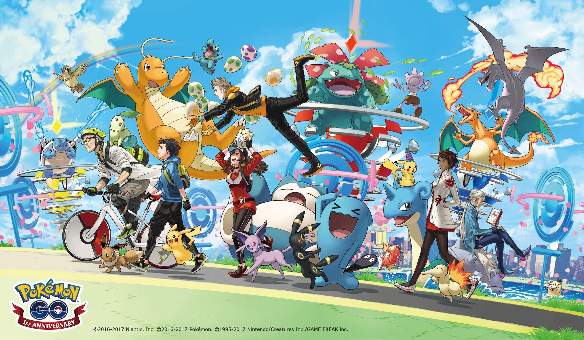 Permalink to Pokémon GO celebra su aniversario con un Pikachu muy especial