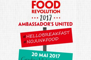 Pe 20 mai: Food Revolution Day 2017 la Snagov!