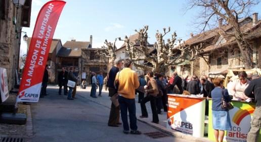 La CAPEB Haute-Savoie dans le village Médiéval d'Yvoire pour son assemblée générale