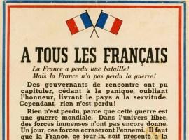 74ème anniversaire de l'Appel du 18 juin