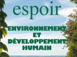 Espoir – numéro spécial COP 21 «Environnement et développement humain»