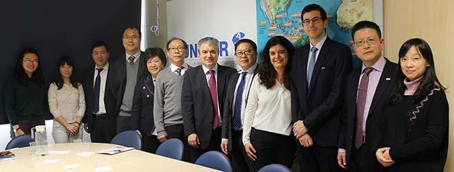 FUNIBER reçoit des représentants de l'Université de Zhejiang, l'une des plus prestigieuses de Chine