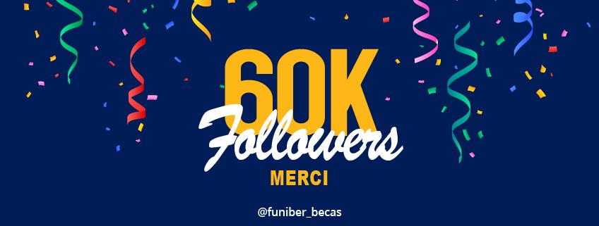 Le compte Instagram de FUNIBER a 60.000 abonnés