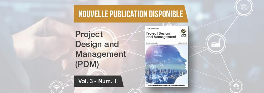 Nouveau numéro de la revue Project Design and Management parrainée par FUNIBER