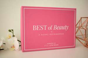 A model recommends, Beauty Box, Feelunique