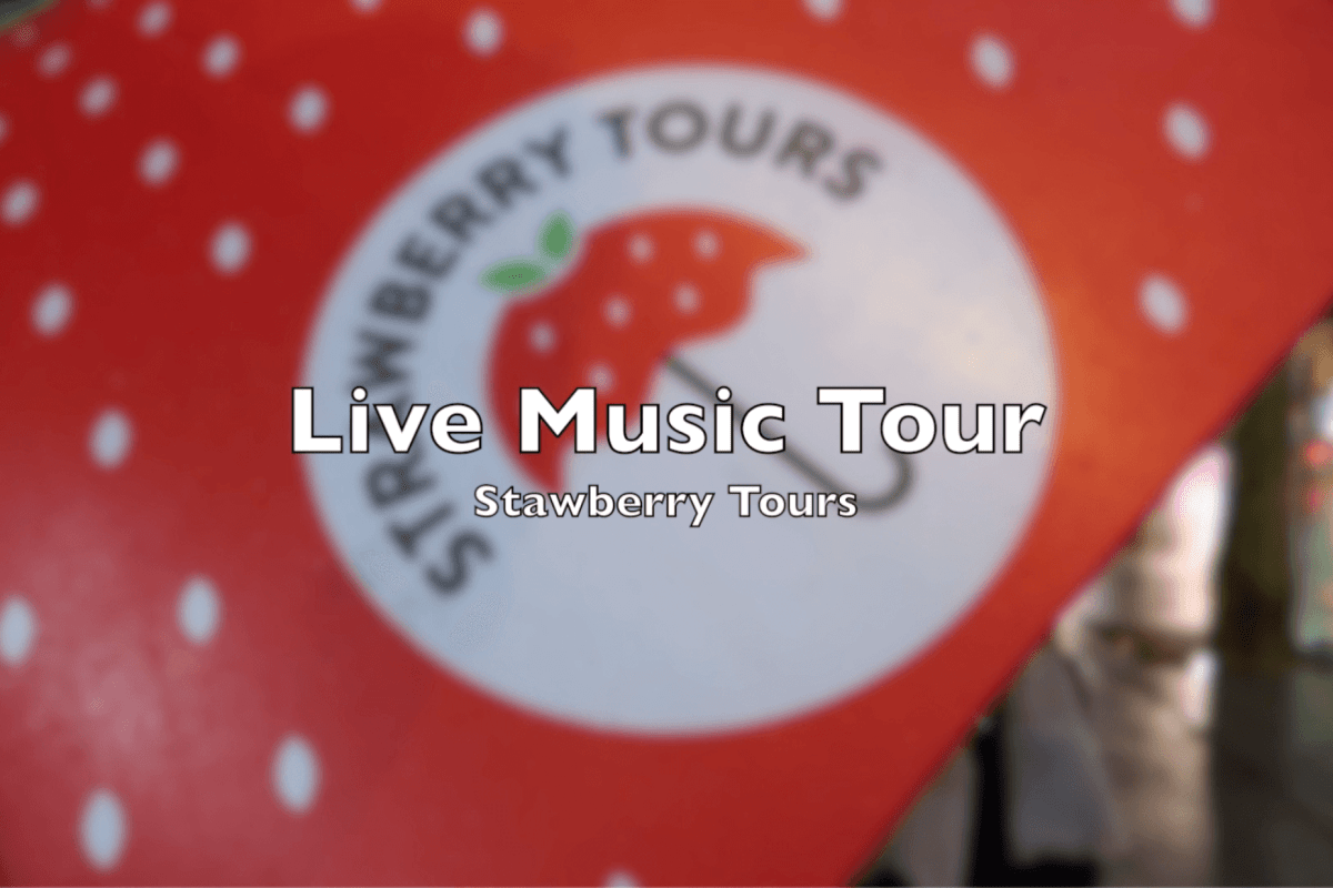 Amsterdam, Free walking tours, Live Music Tour, Strawberry Tours