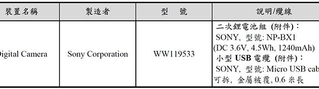 RUMEUR: Sony a enregistré un nouvel appareil photo en Asie: C'est un nouvel appareil photo compact (RX, Cybershot ou Action camera)