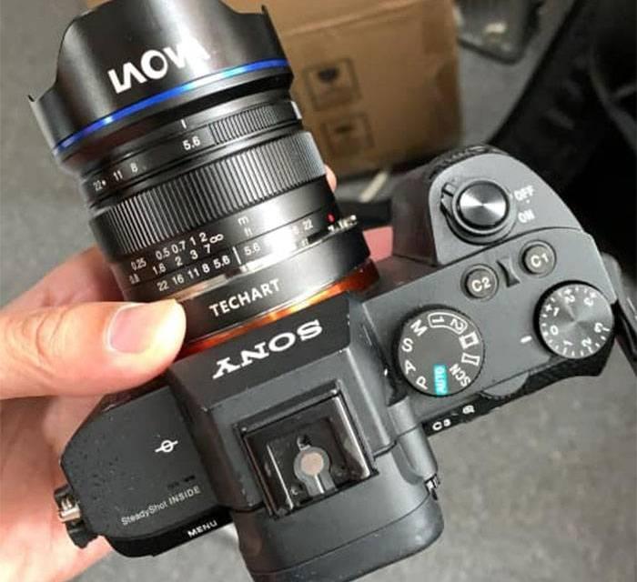 Versus Optics partage le premier exemple pris avec l'objectif 9 mm