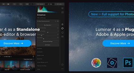 Télécharger une version d'essai de Luminar 4.1