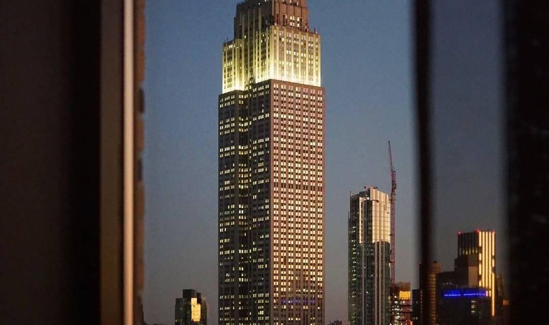 Une vue unique sur l'emblématique Empire State Building de New York
