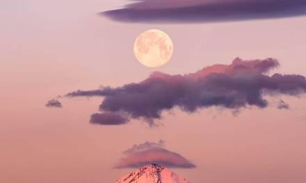 """""""La lune est l'un de mes sujets préférés à photographier"""""""