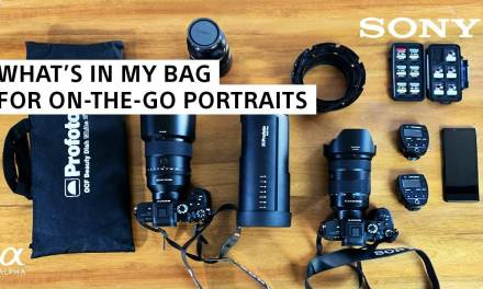 Dans la sac de Brian Smith, photographe de portrait