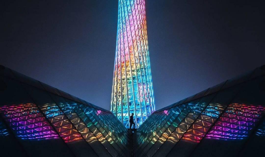 Le photographe @Nathan_Ackley partage ces vues colorées de Guangzhou