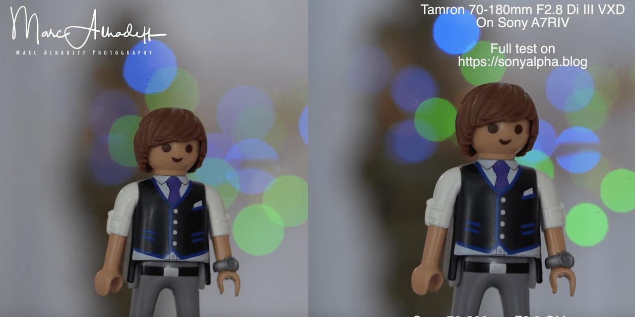 Vidéos test du nouveau Tamron 70-180mm f/2.8 : «la mise au point automatique est exceptionnelle»