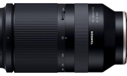 Tamron a officiellement annoncé le 70-180 mm f/2.8 Di III VXD pour Sony E