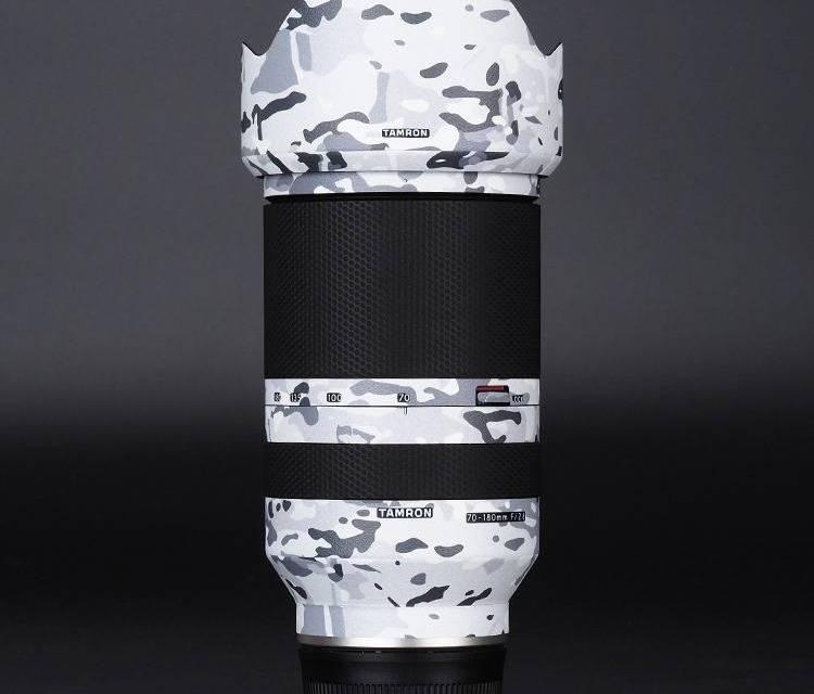 Première protection cutanée pour le nouvel objectif Tamron 70-180 mm f / 2,8 FE