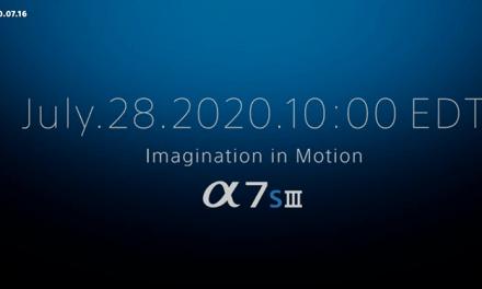 Sony Alpha 7s III annoncé… prochainement !