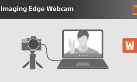 Logiciel Imaging Edge Webcam Disponible pour PC et Mac