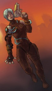 """Bartleby, known as Proxy Zealot in Firewall.  """"I'm afraid I can't explain myself, sir. Because I am not myself, you see?"""""""