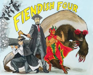 fiendish-four