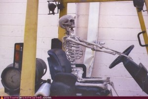 AND THEN JOHN WAS A SKELETON