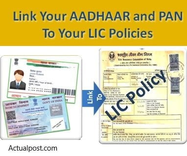 How to link Aadhar and PAN to LIC