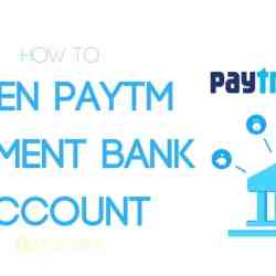 Open a Savings Account in Paytm Bank in Hindi