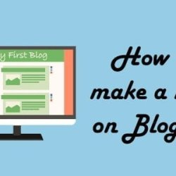 How to make a blog on Blogger in less than 2 minutes - WordPress par blog kaise banaye
