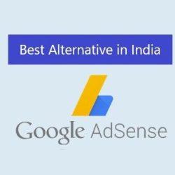 Best Google Adsense alternative in India