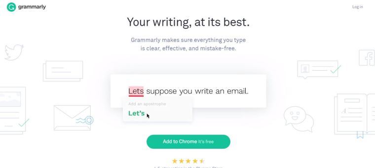 grammarly - Best blogging tools for better SEO