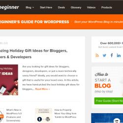 How to make a website like WPBeginner - WPBeginner Theme